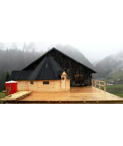 """Caseta de madera """"Grill Cabin 25 PLUS """""""