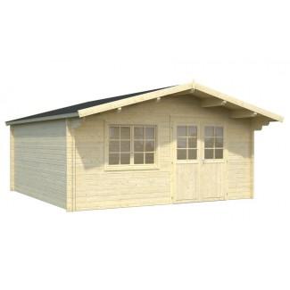 """Caseta de jardín """"BRITTA 22.3  m2"""""""
