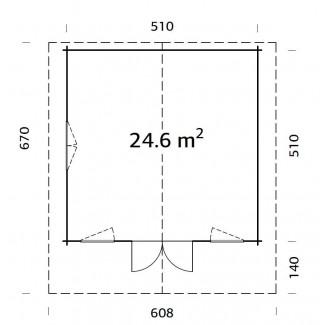 HELENA 24.6 m2