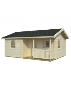 "Casa de madera ""SANDRA 21,5 + 3,7 m2"""