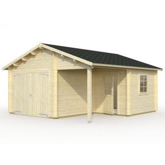 """Garaje de madera """"4"""""""