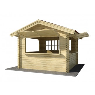 """Quiosc de fusta """"EUROCASETAS"""""""