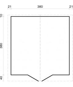 """Caseta de jardín """"LOTTA 13.9 m2"""""""