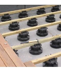 Soportes regulables con cabezal autonivelante,  50-75  mm