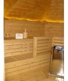 SAUNA CABIN 9.2 con vestidor