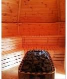 SAUNA CABIN 16,5 m2  con barbacoa