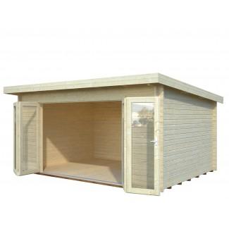 Caseta de madera LEA 14,2 m2