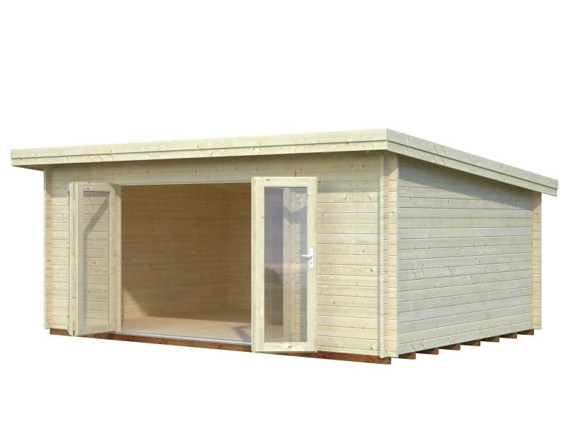 Caseta de madera LEA 19,4 m2