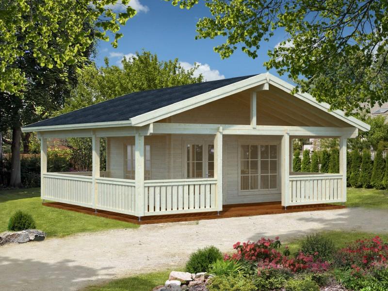 """Casa de madera  """"AGNETA  18,8 + 28,8 m2"""""""