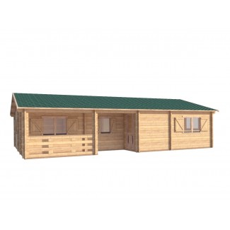 """Casa de fusta """"RADO"""" - 44mm"""