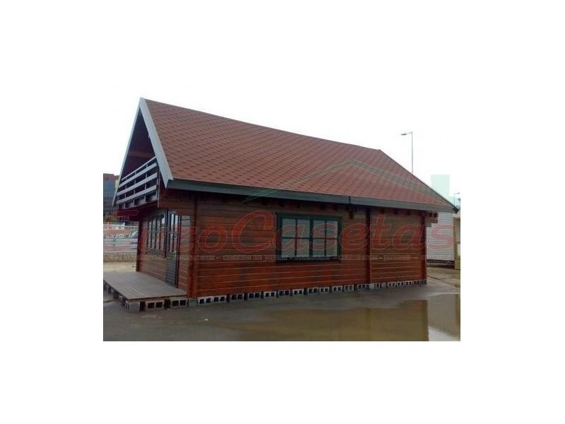 Casa de madera LINCOLN