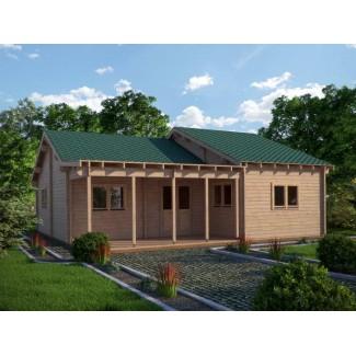 """Casa de madera  """"WENDY , 96 m2 """" - 70mm"""