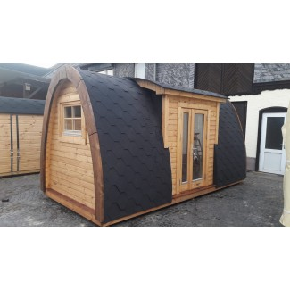 Camping Pod  3.0 x 4.8 LUXURY PLUS en doble pared