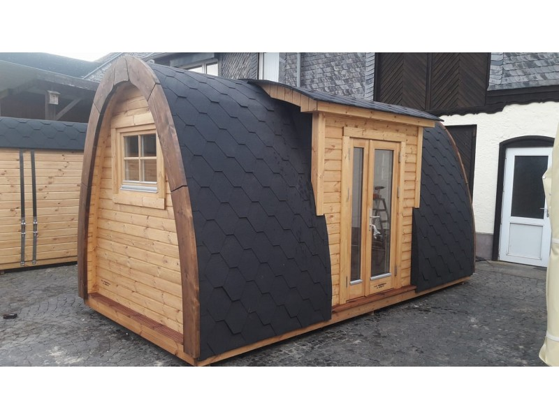 Camping Pod  3.0 x 4.8 LUXURY PLUS en doble pared