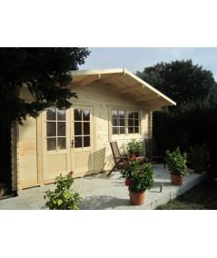 Caseta de jardín  ALTEA 5X6 , 30 m2 , 44 mm