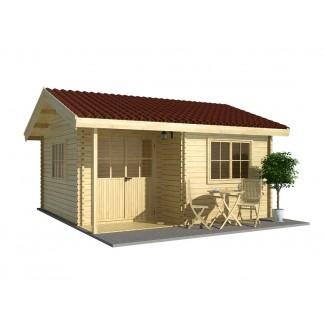 Caseta de jardin  ALPINA PLUS 4x6 , 24 m2 - 44mm