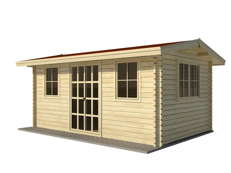 Caseta de jardín NIDA 4x3
