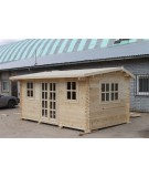Caseta de jardín NIDA 4x4