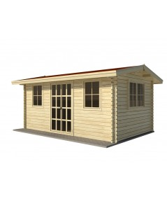 Caseta de jardín NIDA 5x4, 20 m2 , 44 mm
