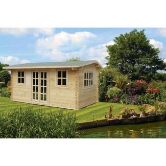 Caseta de jardín NIDA 6x3 , 18 m2 , 44 mm