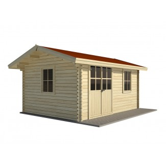 Caseta de jardin ROA 5x4, 20 m2 - 44mm