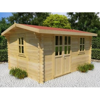 Caseta de jardin ROA 6x3, 18 m2 - 44mm