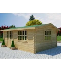 Caseta de jardin  ZOYA 5x4 , 20 m2 - 44mm