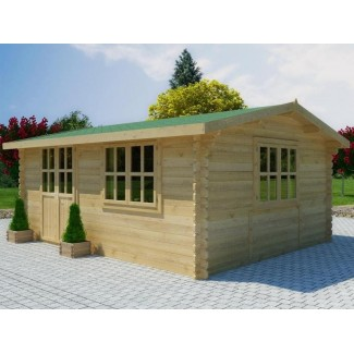 Caseta de jardin ZOYA 6x3 , 18 m2 - 44mm