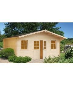 "Caseta de jardín ""MONICA 6x6"" con WC"