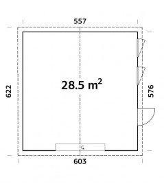 "GARAJE  ""ANDRE 28,5 m2"""