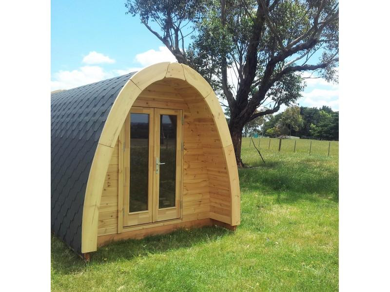 Camping Pod 2.4 x 5.9 LUXURY