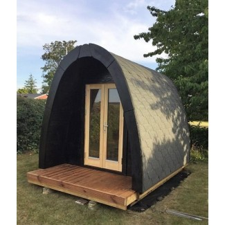 Luxury Camping Pod 2,4 x 3,0  en doble pared