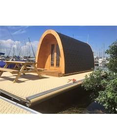 Luxury Camping Pod 2.4 x 4.0 en doble pared