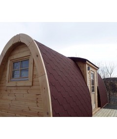 Luxury Camping Pod 6.0  PLUS en doble pared