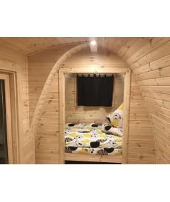 Camping Pod 2.4 x 6.6  LUXURY PLUS