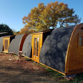 Luxury Camping Pod 2.4 x 6.6  PLUS