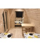 Camping Pod 2.4 x 6.6  LUXURY PLUS