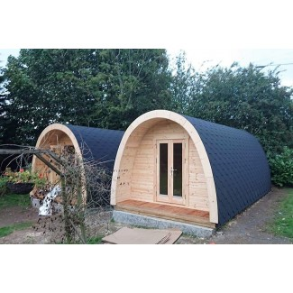 Luxury Camping Pod  3.25  x 4.8 con WC