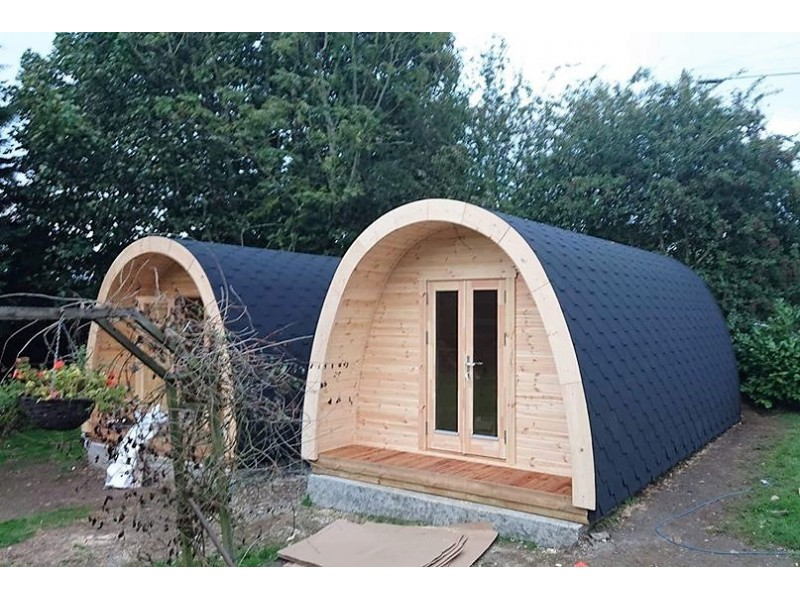 Luxury Camping Pod  3.25  x 4.8 con WC
