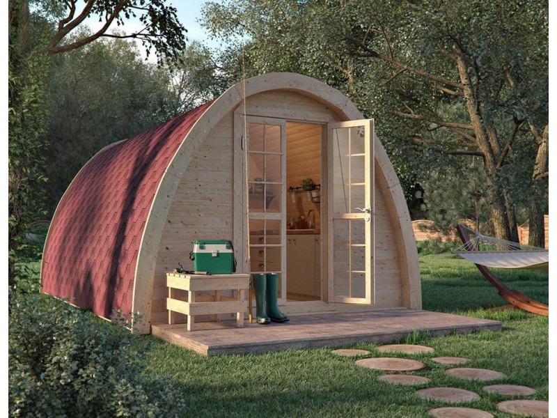 Luxury Camping Pod  3.25  x 5.9 con WC