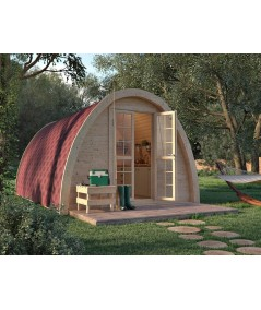 Luxury Camping Pod  3.25  x 5.9 con WC