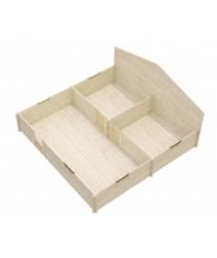 """Casa de madera  """"BERTA  5x6 , 30 m2  """""""