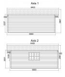 Caseta de jardín ALTEA 5x6