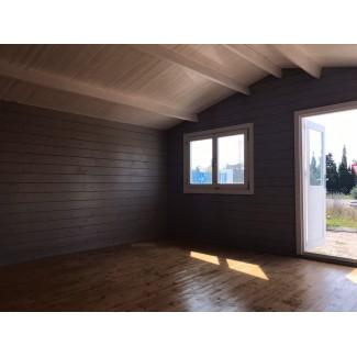 Caseta de jardin ALTEA 5x5 m , 44 mm