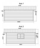 Casa de jardín DENIA 5x6