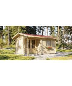 Caseta de jardín  ALPINA  4x5 , 20 m2 - 44mm