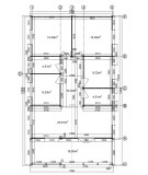 "Casa de madera  ""AINSA , 96 m2 + 20 m2 terraza "" - 44 mm"