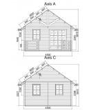 """Casa de fusta """"NOIA"""" - 44mm"""