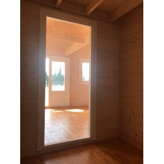 Casa de madera NOIA , 44 mm
