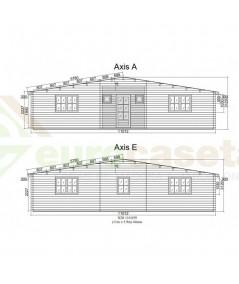 Casa de madera KRISTI